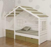 Кровать Домик угловой Fairy Land №39 , любые размеры