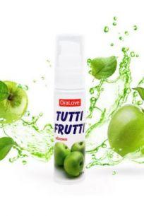 Гель-смазка для орального секса Bioritm OraLove Tutti-Frutti яблоко, 30 г