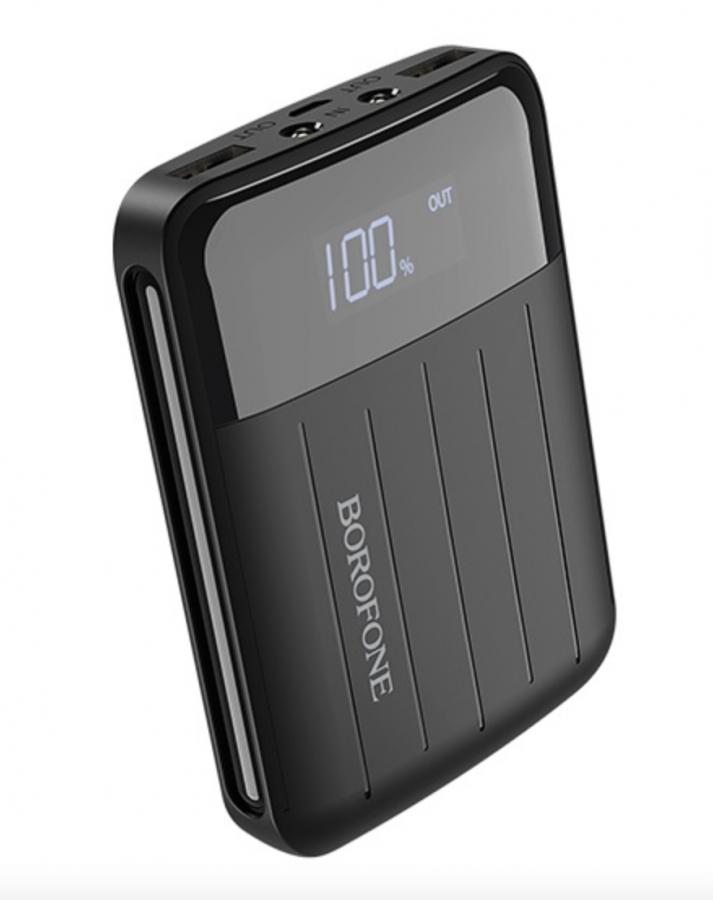 Универсальный внешний аккумулятор (Power Bank) Borofone BT21 10000 mAh (black)