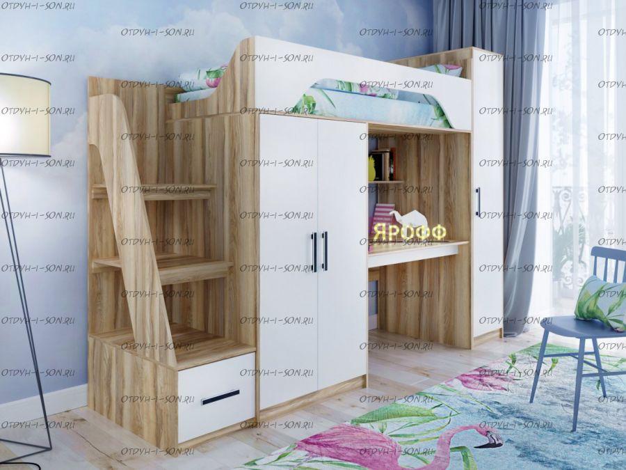 Кровать-чердак Тея