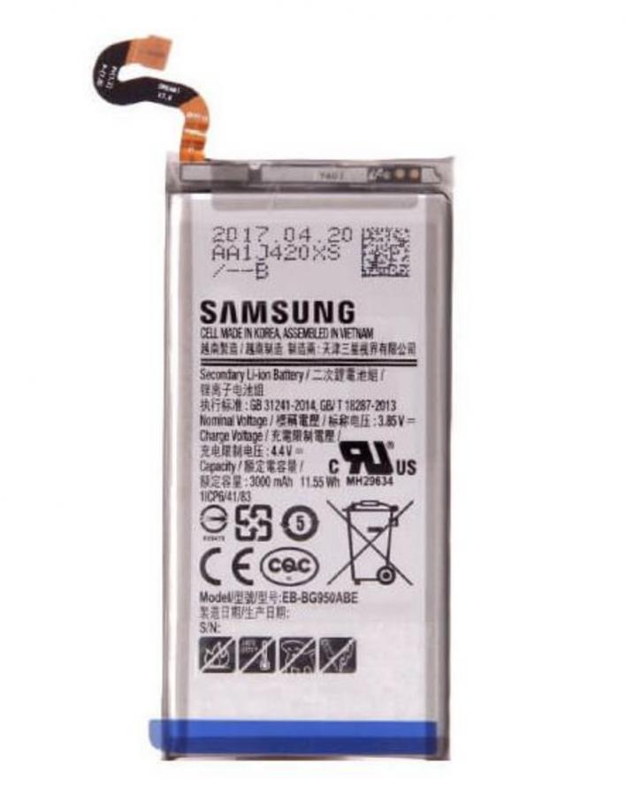 Аккумулятор Samsung G950F Galaxy S8 (EB-BG950ABA/EB-BG950ABE) Оригинал