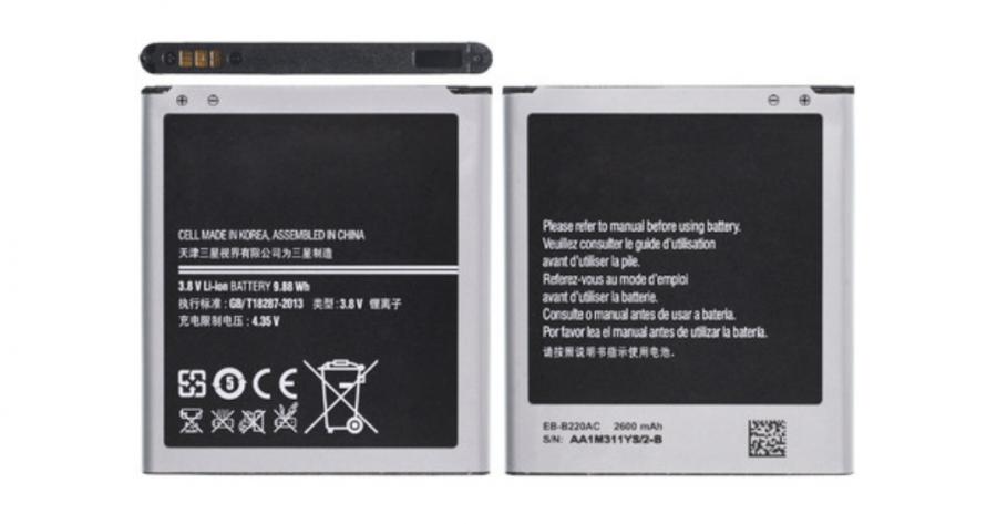 Аккумулятор Samsung G7102 Galaxy Grand 2/G7106 Galaxy Grand 2 (EB-B220AC) Аналог