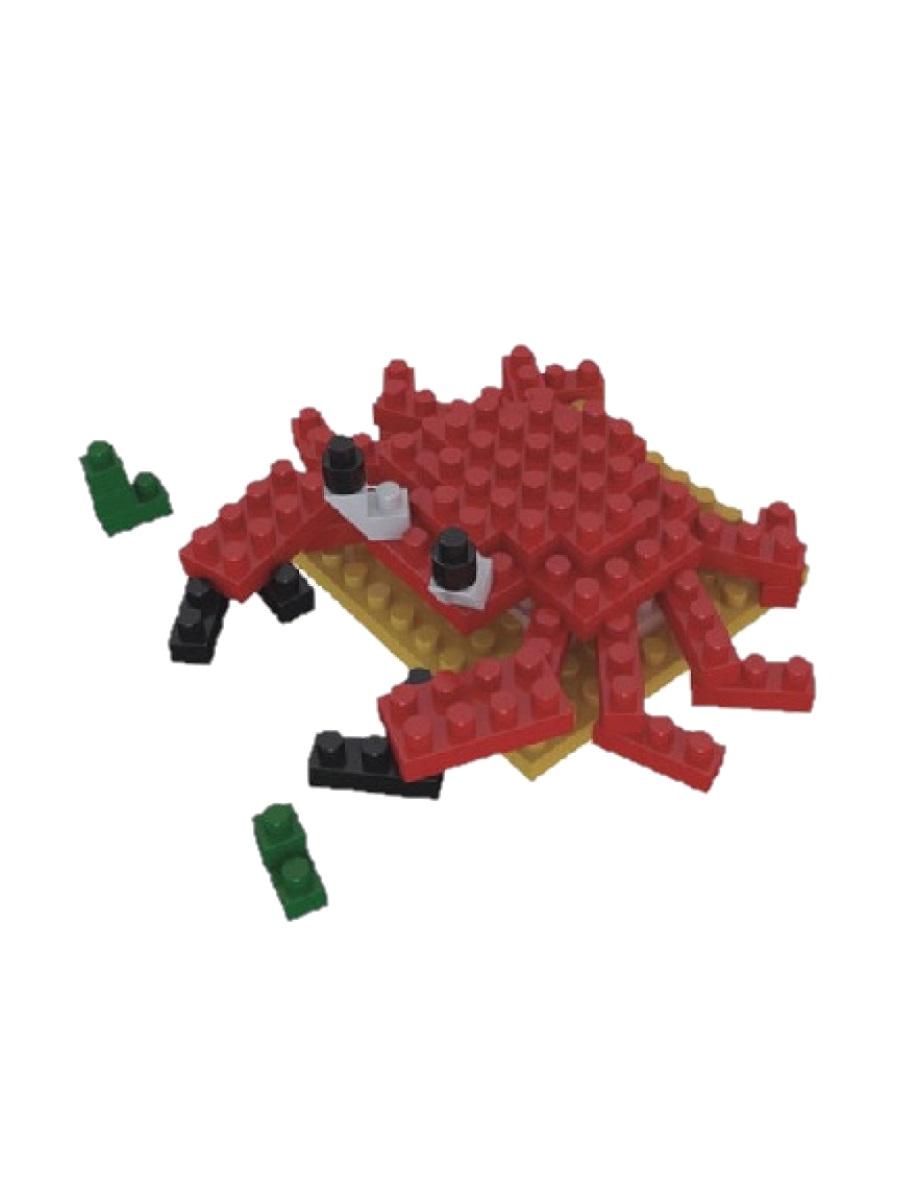 Конструктор Wisehawk & LNO Краб 50 деталей NO. 2804-8 Crab Mini blocks