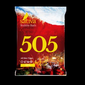 "Sativa №505 Пена для ванны ""Вечерний глинтвейн в Альпах"" 15г"