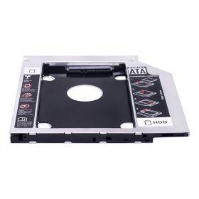 Адаптер Optibay 12.7mm SATA HDD 2.5'' SATA в отсек привода ноутбука