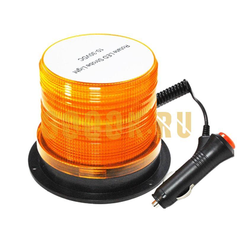 Маяк светодиодный 10-30V (желтый)