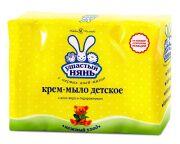 Крем-мыло с алоэ и подорожником 4 шт. в упак/Ушастый нянь