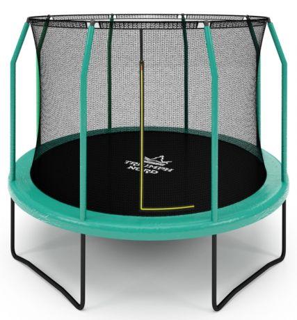 Бaтут для дачи с сеткой Триумф Норд Чемпион Green ( Зеленый ) 305 см
