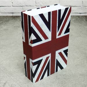 Книга-сейф Английский флаг (24*16 см)