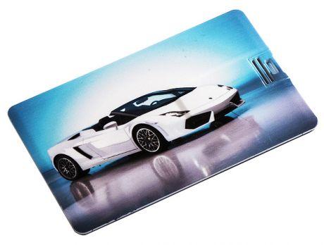Флешка кредитка Машина (8 гб)