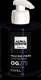 Масло-гель для бритья ESTEL ALPHA HOMME PRO 275 мл