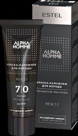 Краска-камуфляж для бороды ALPHA  7/0 русый 40 мл