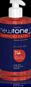 Тонирующая маска для волос NEWTONE, 7/44 Русый медный интенсивный, 435 мл