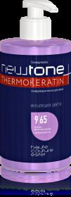 Тонирующая маска для волос NEWTONE, 9/65 Блондин фиолетово-красный, 435 мл