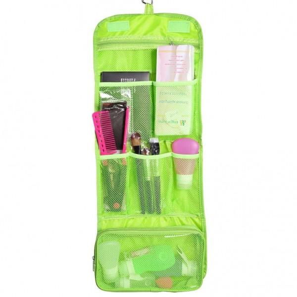 Дорожная сумка для гигиенических принадлежностей Travel Storage Bag, зеленый