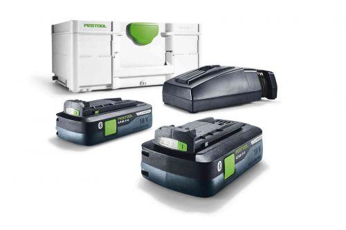 Комплект электропитания SYS3 ENG 18V 2x4,0/TCL6