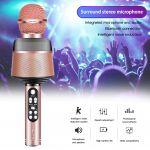 Орбита OT-ERM10 Розовый RGB микрофон (Bluetooth, динамики, USB)