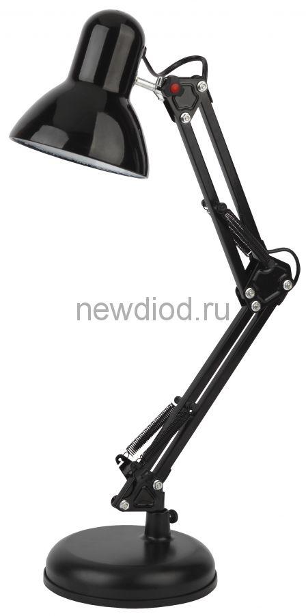 Настольный светильник N-214-E27-40W-BK черный ЭРА