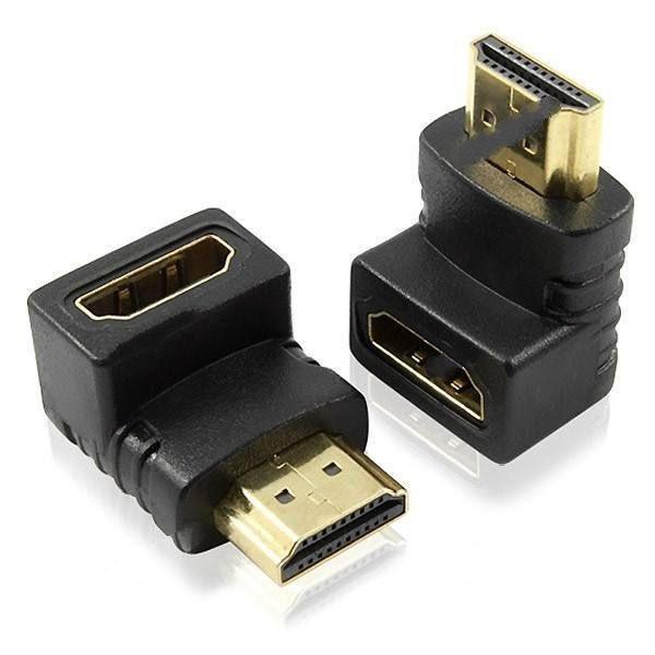 Орбита OT-AVW22 видео переходник (гнездо HDMI - штекер HDMI угловой) (УПАКОВКА 10шт)