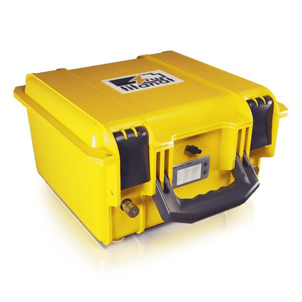 Аккумулятор LiFePO4 12V 110Ah защищённый (2USB+кулометр)