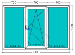 Exprof Practica 58мм (3кам)