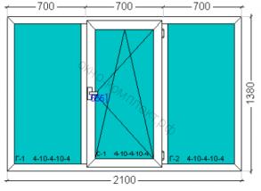 Proplex Litex 58 мм (3кам)