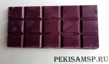 Глазурь кондитерская со вкусом, цветом и ароматом ЕЖЕВИКИ 100г/1шт плитка