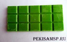 Глазурь кондитерская со вкусом, цветом и ароматом КИВИ 100г/1шт плитка