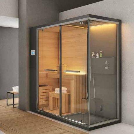 Хаммам со встроенным душем и сауной Hafro Ethos C 200х100 ФОТО