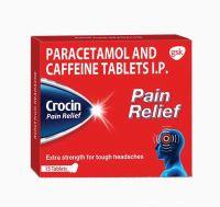 Кроцин обезболивающее | Glaxosmithkline Crocin Pain Relief Tablets