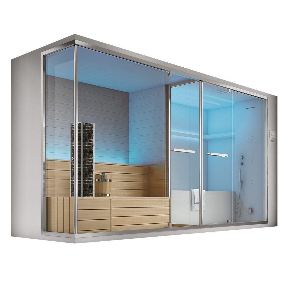 Хаммам с сауной, душем и встроенной ванной Hafro Olimpo ФОТО
