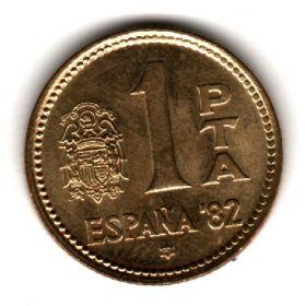 Испания 1 песета 1980 (80)