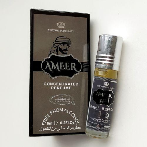 Арабские масляные духи Ameer | Амир | 6 мл | Al-Rehab | Мужские