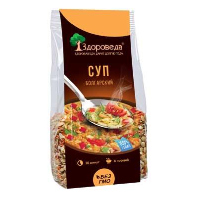 Суп болгарский с зелёной чечевицей и сельдереем Здороведа - 250 гр