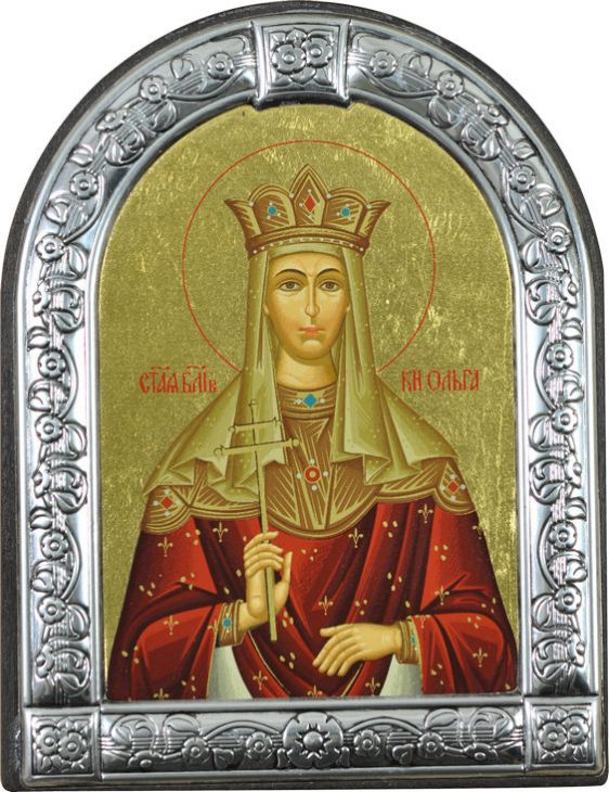 Икона Святая равноапостольная княгиня Ольга (Греция)