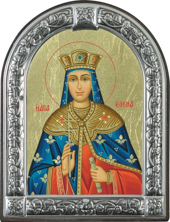 Икона Святая равноапостольная Елена (Греция, 13х10 см.)