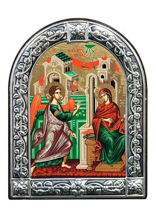 """Икона """"Благовещение Пресвятой Богородицы"""" (Греция, 13х10 см.)"""