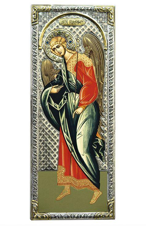 Икона Архангел Гавриил (Греция, 39x16 см.)