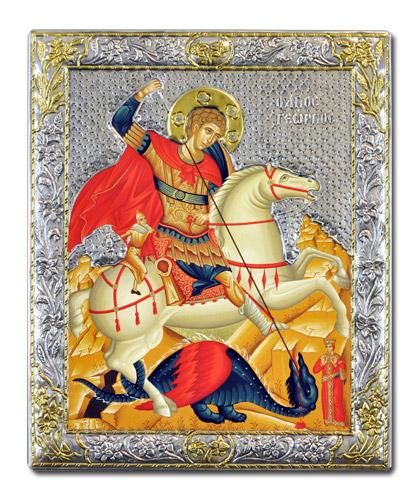 Икона Великомученик Георгий Победоносец (Греция)