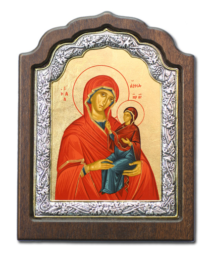 Икона Святая Анна (Греция, 33х25 см.)