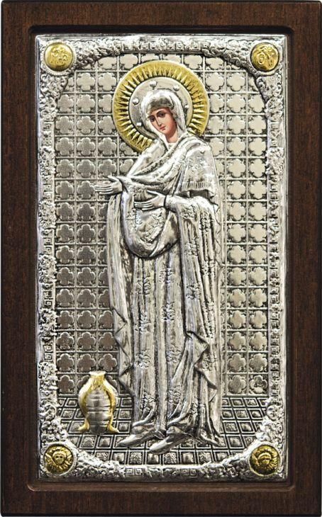 """Икона Божией Матери """"Геронтисса"""" (Греция, 16х10 см.)"""