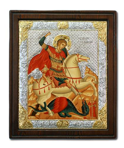 Икона Святой Георгий Победоносец (Греция)