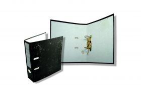 Папка-регистратор 70 мм, оклеенная под мрамор