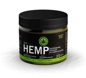 Протеин растительный (конопляный) HEMP (300г)