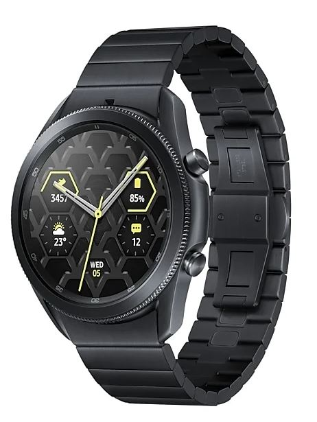 Умные часы Samsung Galaxy Watch3 Titan 45мм