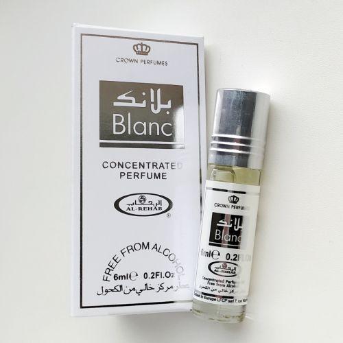 Арабские масляные духи Blanc | Бланк | 6 мл | Al-Rehab | Унисекс