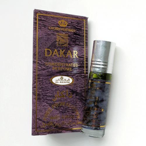 Арабские масляные духи Dakar | Дакар | 6 мл | Al-Rehab | Мужской