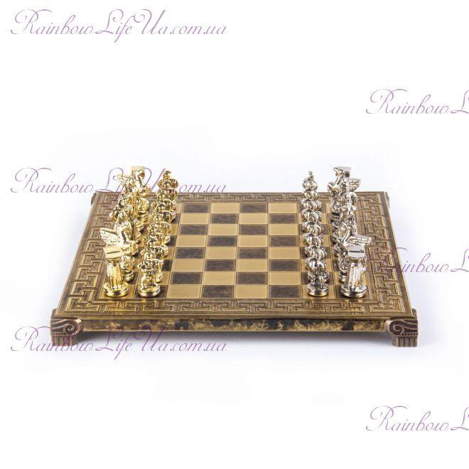 "Шахматы ""Manopoulos"" Спартанский воин S16MBRO"