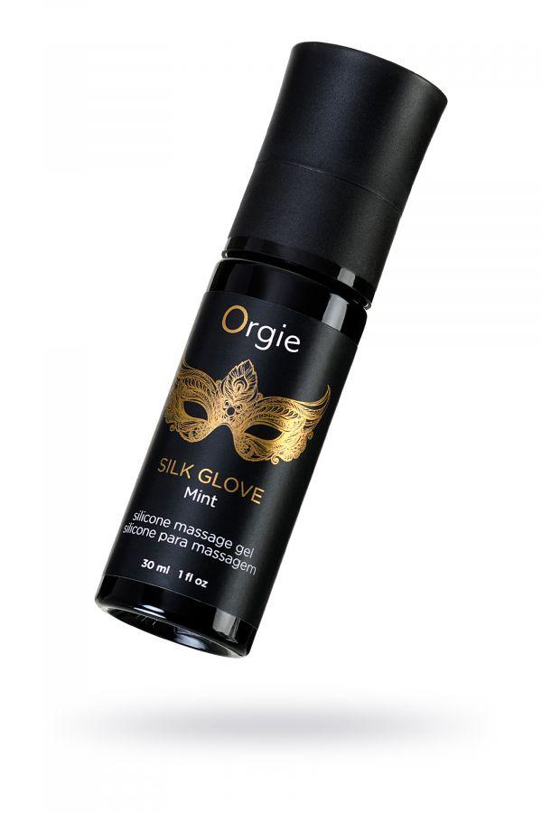 Комплект для эротического массажа  Orgie Pear Lust Massage (силиконовый гель + жемчужная нить)