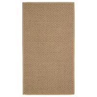HELLESTED ХЕЛЛЕСТЕД, Ковер безворсовый, неокрашенный/коричневый, 80x150 см - 904.079.91
